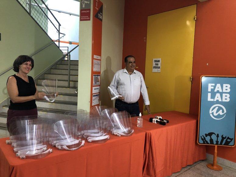 UNIPAM e parceiros entregam mil máscaras de proteção contra o novo Coronavírus para a Secretaria de Saúde e Hospital Regional
