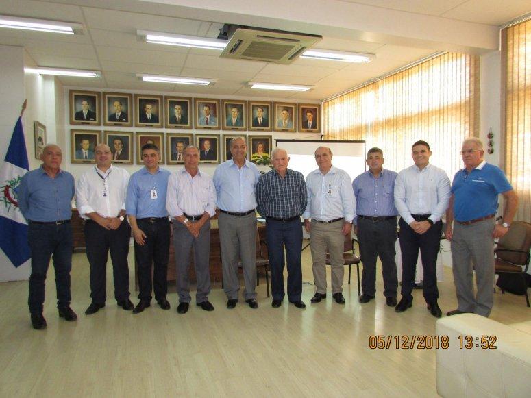Em reunião com Prefeito, Algar Telecom anuncia investimentos em Patos de Minas