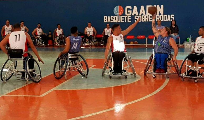APP/UNIPAM/DB de Basquete em Cadeiras de Rodas vence equipe de São Bernardo do Campo