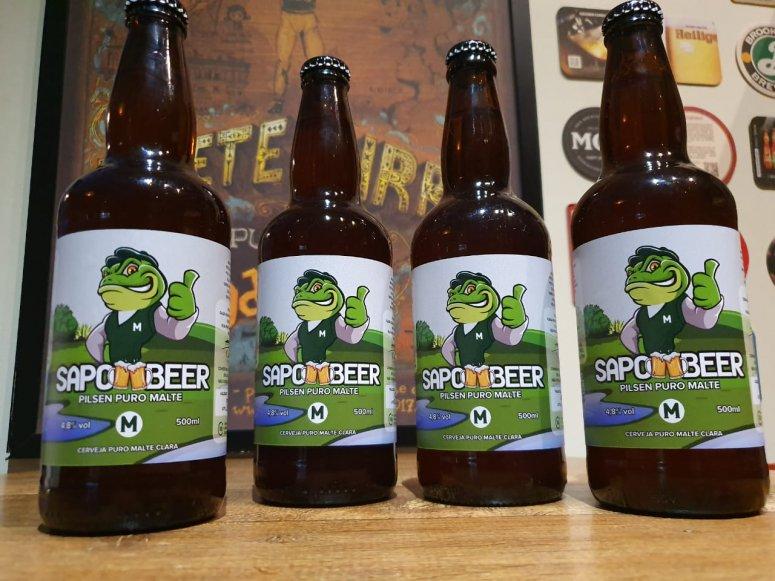 Cerveja Sapo Beer já pode ser adquirida na Casa Grande