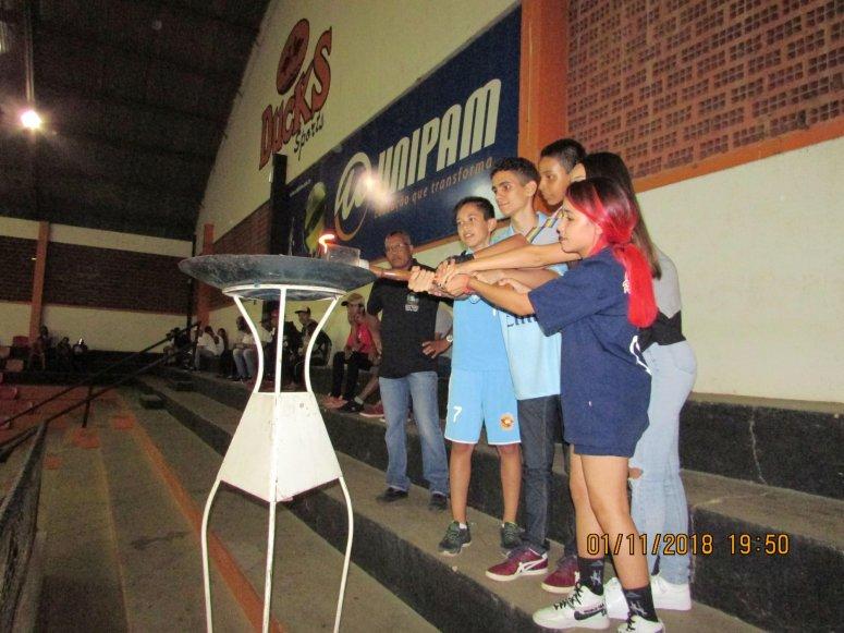 Prefeitura realiza abertura oficial da Olimpíada Estudantil Patense