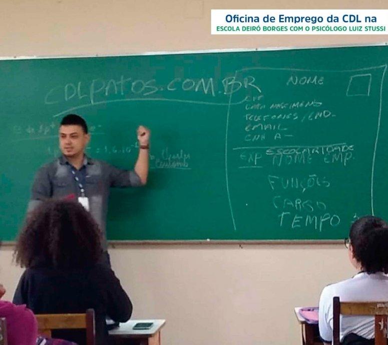 CDL Patos de Minas lança o projeto Oficina de Emprego