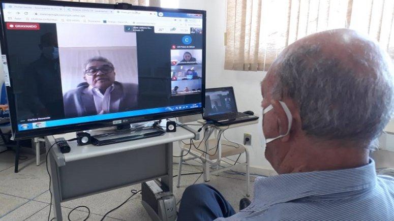 Covid-19: aumento de casos é tema de reunião virtual entre SES-MG e prefeitos da região