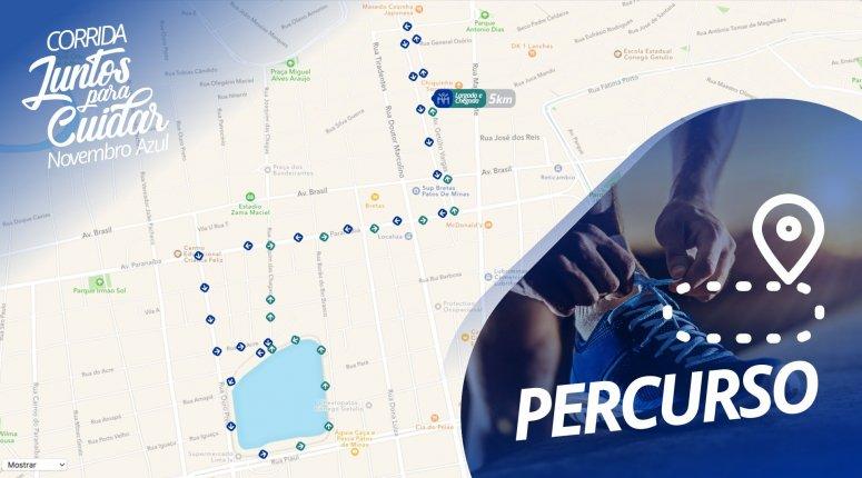 Mais de 200 atletas participam amanhã da Corrida Juntos para Cuidar Novembro Azul