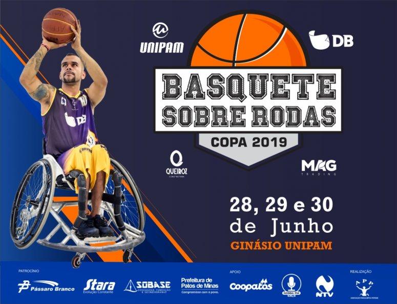 Copa 2019 de Basquete sobre Rodas será realizada em junho