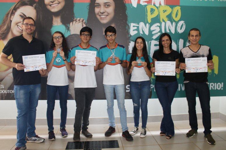 Alunos do Ensino Médio UNIPAM conquistam medalhas na Olimpíada Brasileira de Astronomia e Astronáutica