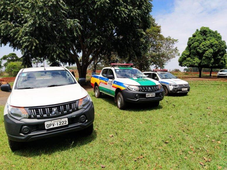 Cerimônia de doação de bens à Polícia Militar e ao IEF foi realizada nesta quinta-feira
