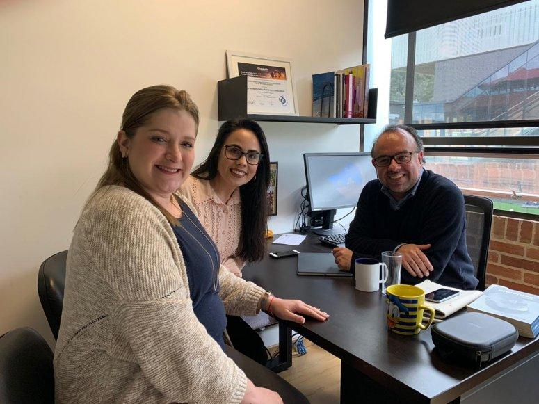 Coordenadora do curso de Direito da FPM realiza encontros com autoridades da Pontificia Universidad Javariana - Bogotá