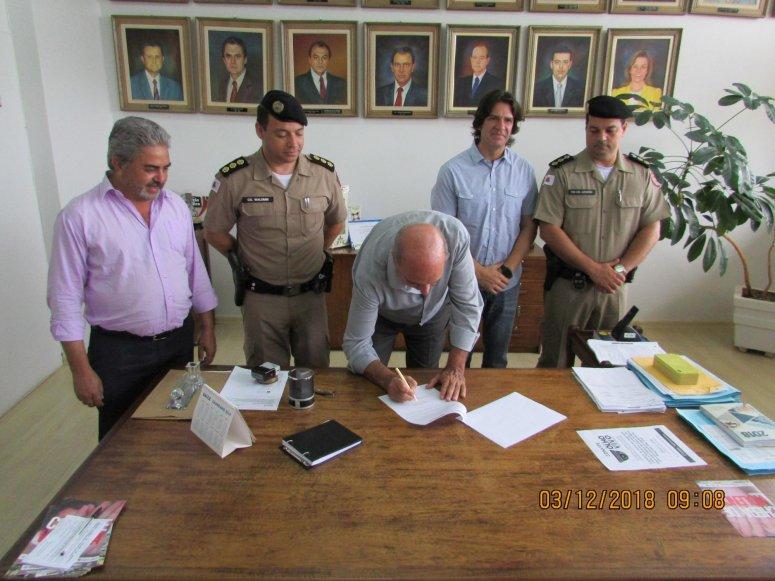 Prefeitura assina convênio com Consep para manutenção e expansão do sistema Olho Vivo