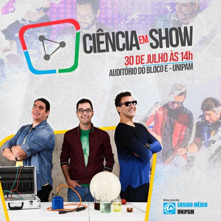 """Grupo """"Ciência em Show"""" participará de evento no UNIPAM"""