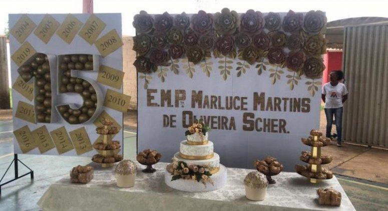 Escola Marluce Martins comemora 15 anos de existência