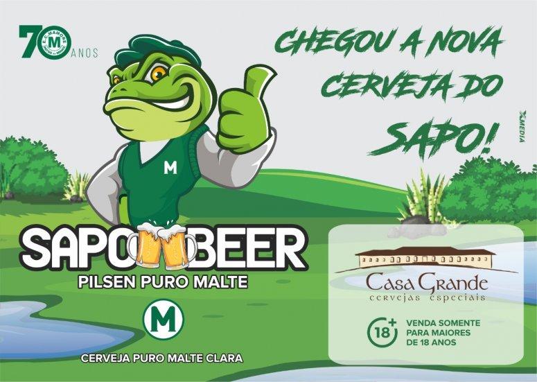 Mamoré fará pré-lançamento da Cerveja e Chopp Sapo Beer neste sábado