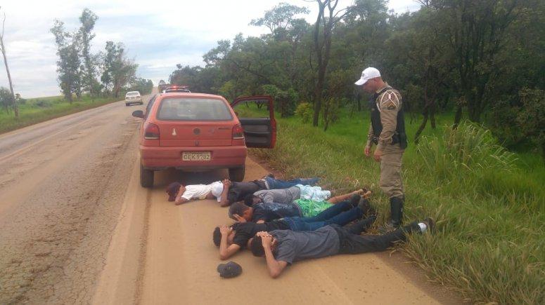Polícia Militar Rodoviária recupera veículo furtado na BR 354