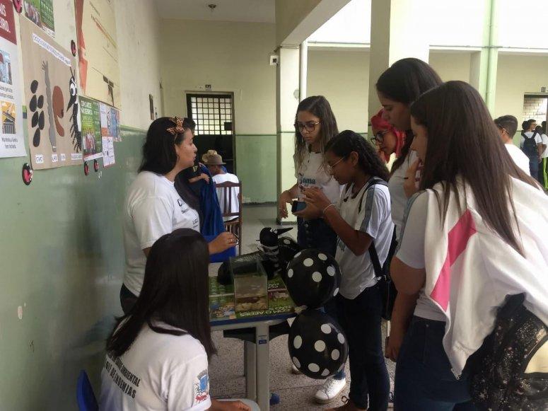 Ações educativas na luta contra o Aedes aegypti são realizadas em Patos de Minas