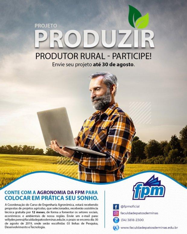 Agronomia FPM lança projeto