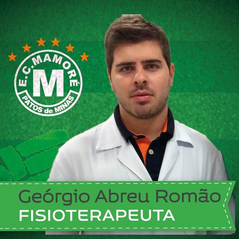 Geórgio Abreu é o novo fisioterapeuta do Mamoré
